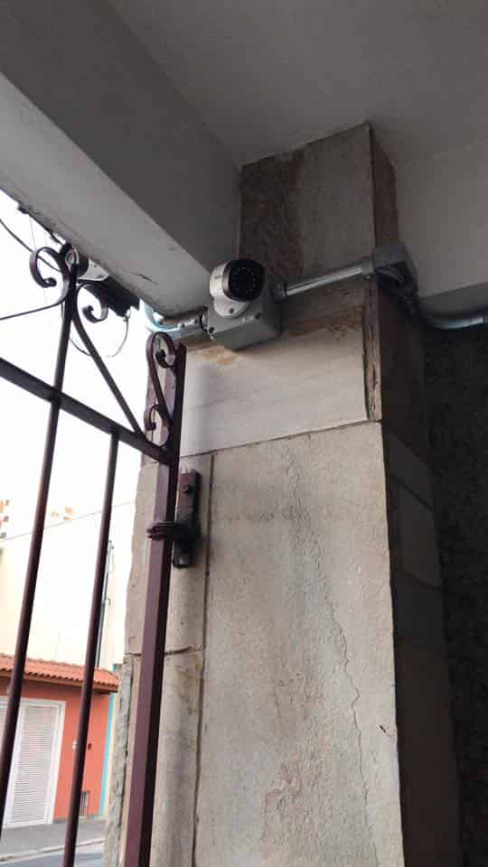 foto da terceira camera de segurança instalada